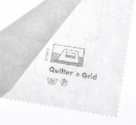 Vilene Iron-on Interfacing - Gridded, White
